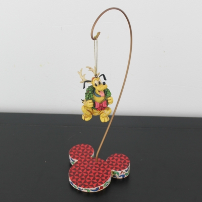 Pluto traditions ornament with stand by Jim Shore