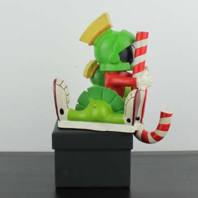 Marvin the Martian with K9 Christmas stocking holder by Warner Bros