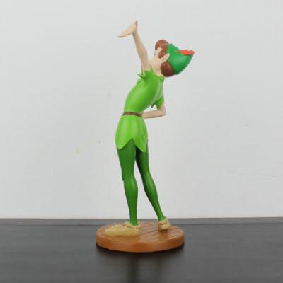 Vintage Peter Pan statue