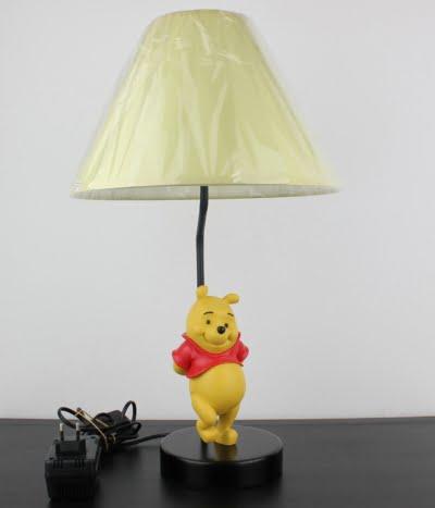 Vintage Winnie the Pooh lamp by Walt Disney
