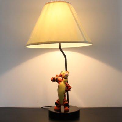 Vintage Tigger lamp by Walt Disney