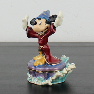 Mickey Mouse as sorcerer's apprentice juwelry box