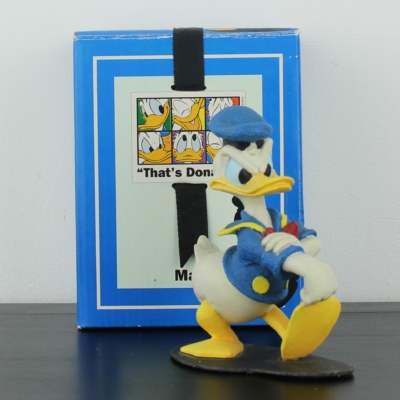 Donald Duck mad statue by Enesco