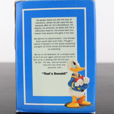 Donald Duck excuse me statue by Enesco