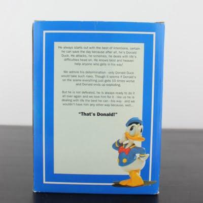 Donald Duck proud statue by Enesco