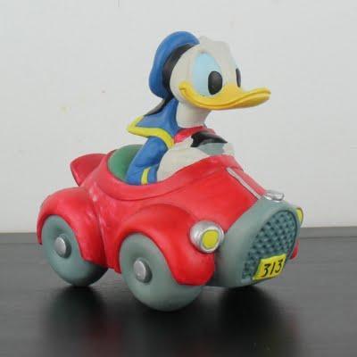 Donald Duck money box by Enesco