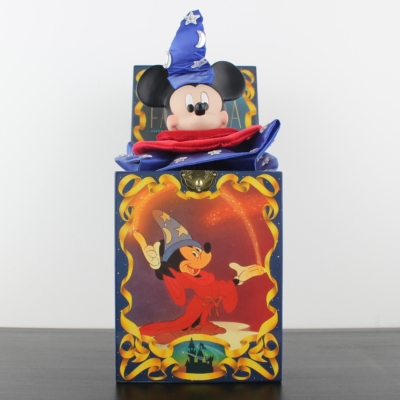 Mickey Mouse sorcerer's apprentice Jack in the Box