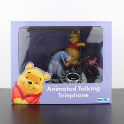 Winnie the Pooh and Friends Animation animated phone by Superfone