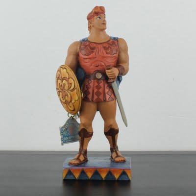 Hercules statue by Jim Shore