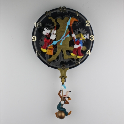 Clockcleaners animation Clock by Superfone in license of Walt Disney