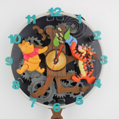 Winnie the Pooh and Friends Animation Clock by Superfone