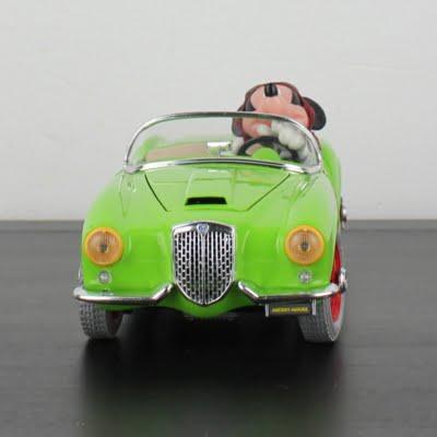 Mickey Mouse Lancia Aurelia B24 Spider model car by Bburago in license of Walt Disney
