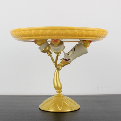 Lumiere cake stand of Beauty and the Beast