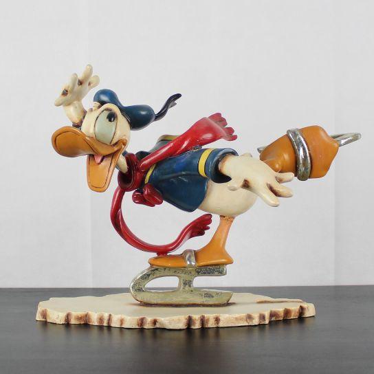 Donald Duck Ice Skating