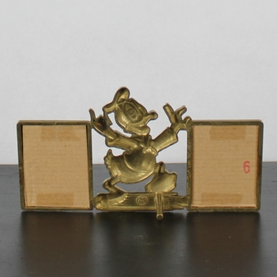 Vintage Donald Duck picture frame from brass by GATCO