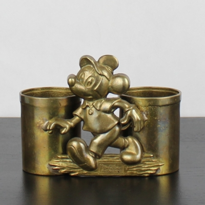 Mickey Mouse double pen tray by GATCO