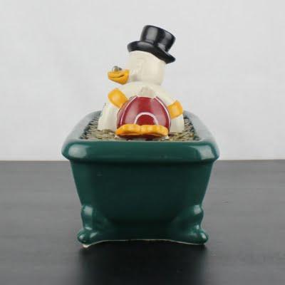 Vintage Scrooge McDuck bathing in money by Demons and Merveilles