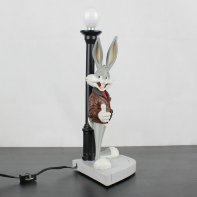 Bugs Bunny lamp by Demons and Merveilles in license of Warner Bros.