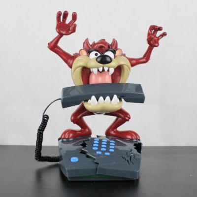 Tasmanian Devil animated phone by Superfone in license of Warner Bros