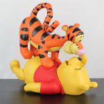 Vintage Winnie the Pooh and Tigger statue by Walt Disney