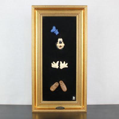 Vintage Goofy 3D wall art by Joakim Lindstrup