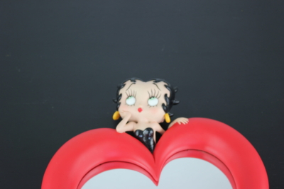 Vintage Betty Boop Wall Mirror heart
