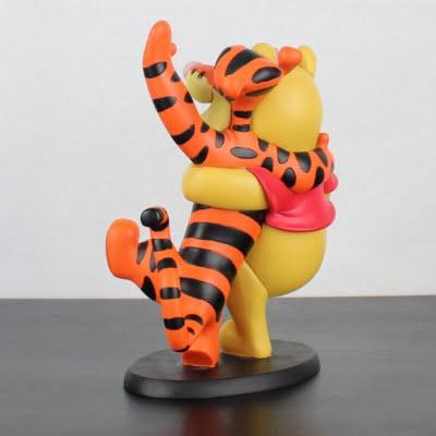 Vintage Winnie the Pooh, Tigger and Piglet statue by Walt Disney