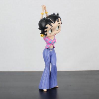 Vintage Betty Boop Statue Flower Power