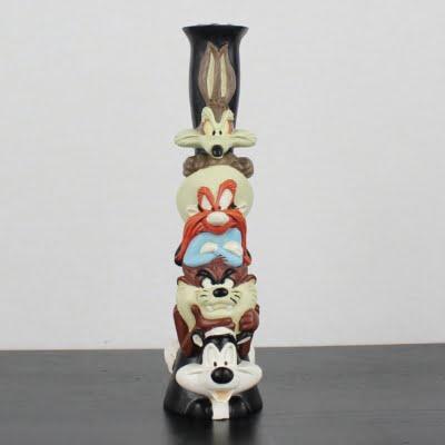 Vintage Looney Tunes candlestick by Warner Bros