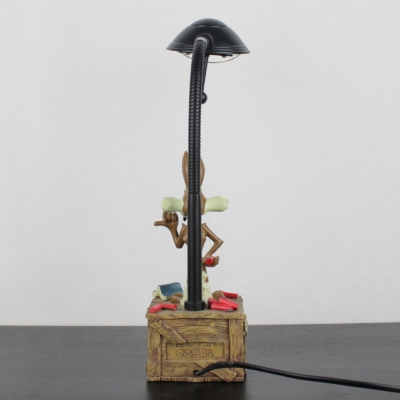 Wile E. Coyote lamp by Casal in license of Warner Bros.