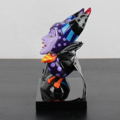 Maleficent bust by Romero Britto