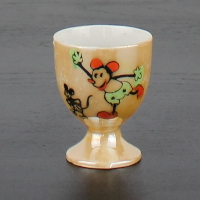 Antique Mickey Mouse egg cup