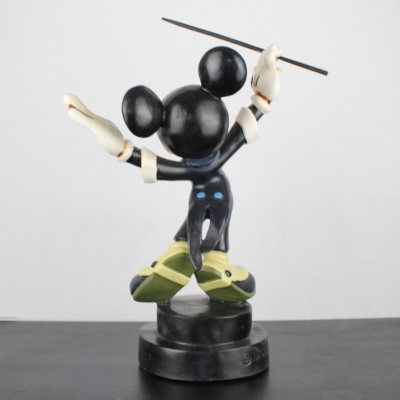 Mickey Mouse as ''Maestro Michel Mouse'' Symphony Hour big Polyresin Walt Disney statue