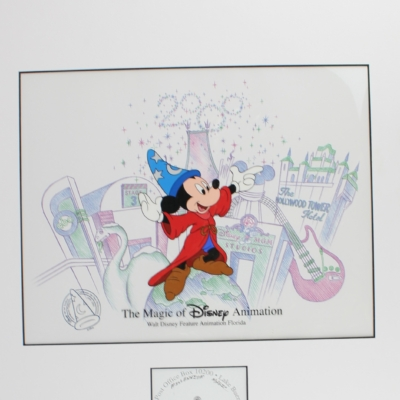 The magic of Disney animation filmcell by Walt Disney