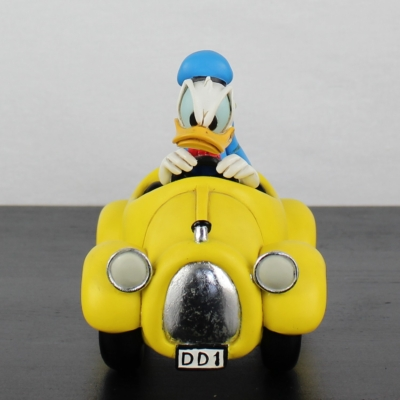 Donald Duck in his DD1 by Peter Mook