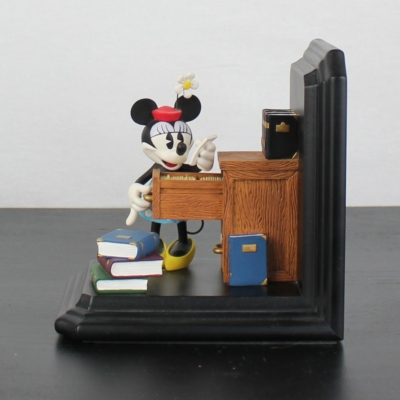 Mickey and Minnie Mouse bookends by Figi Graphics