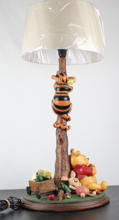 Winnie the Pooh and Piglet and Tigger XXL lamp