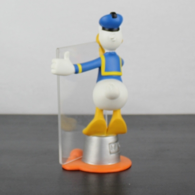 Donald Duck as painter sculptured picture frame
