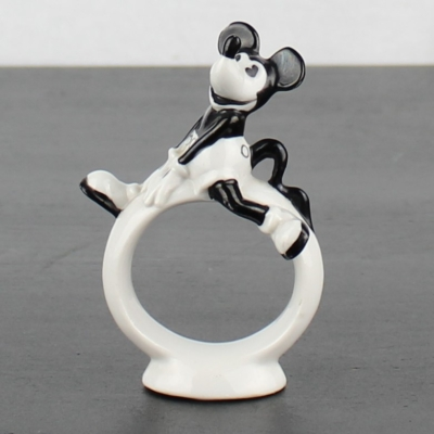 Antique Mickey Mouse napkin ring by Walt Disney