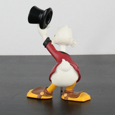 Scrooge McDuck taking of his hat statue by Demons and Merveilles
