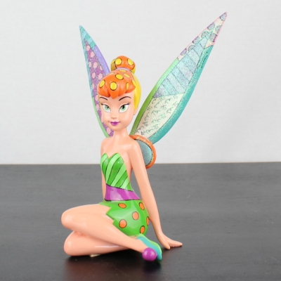 Tinkerbell statue by Romero Britto in license of Walt Disney