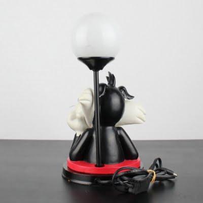 Vintage Sylvester and Tweety table lamp by Warner Bros.