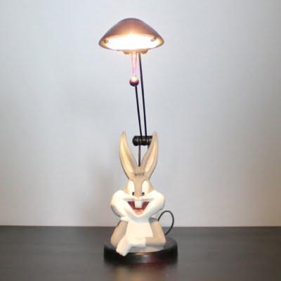 Bugs Bunny lamp by Casal in license of Warner Bros.