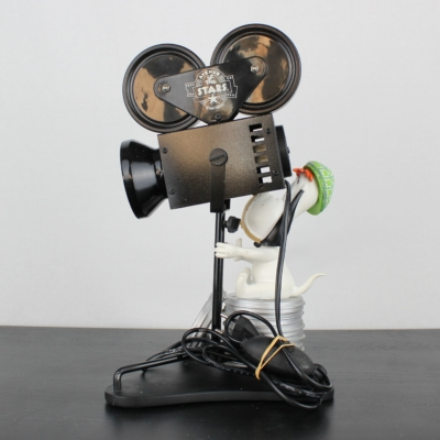 Vintage lamp of Droopy by Avenue of the Stars