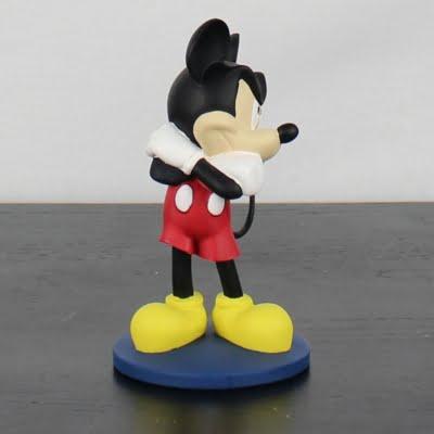 Mickey Mouse statue by Walt Disney
