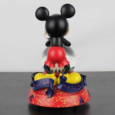 Mickey Mouse snowglobe 40 years of magic Walt Disney World