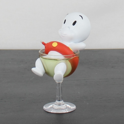 Vintage statue of Casper the friendly ghost by Demons and Merveilles in license of Harvey Entertainment