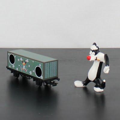 Sylvester and Daffy Duck Jahreswagen 2010 by Marklin in license of Warner Bros