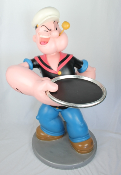 Lifesize Popeye butler by King Features Syndicate Inc.