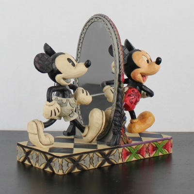 Mickey Mouse ''80 Years Of Laughter'' by Jim Shore of the Traditions line from Enesco